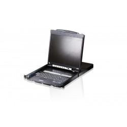 Aten CL5816N-ATA 16-Port Dual Rail 19 inch PS2 USB LCD KVM Switch