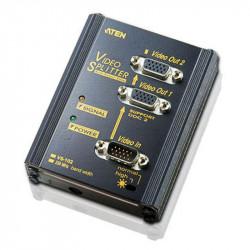 Aten VS102 2-Port VGA Splitter Wall Plate   250MHz