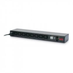 APC AP7920B Rack PDU, Switched, 1U, 12A/208V, 10A/230V, (8)C13
